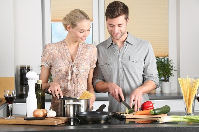 Stress Relief Through Cooking